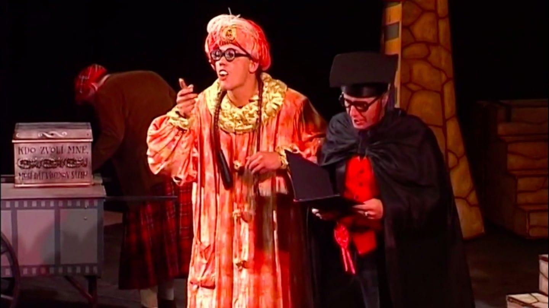 Převýborná historie o benátském kupci aneb Kabaret věkem zaprášený, leč navýsost aktuální